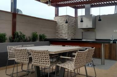 Terraza En Azotea De Departamento Oniria Arquitectura