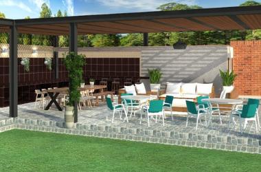 Diseño De Terraza En Casa De Campo Oniria Arquitectura