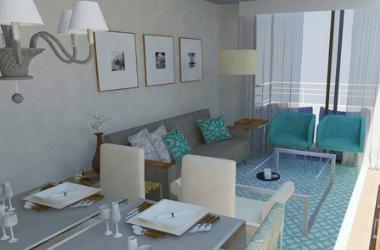 Proyecto de diseño interior para sala y comedor
